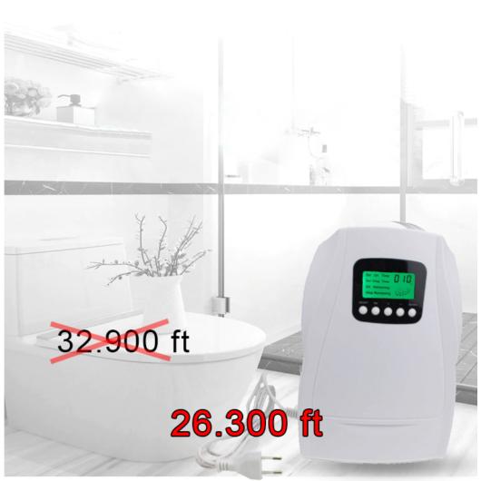MULTI Ózongenerátor otthonra - Ózongenerátor étel fertőtlenítés - Ózongenerátor víztisztítás